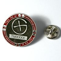 Track Me Pin - Silver