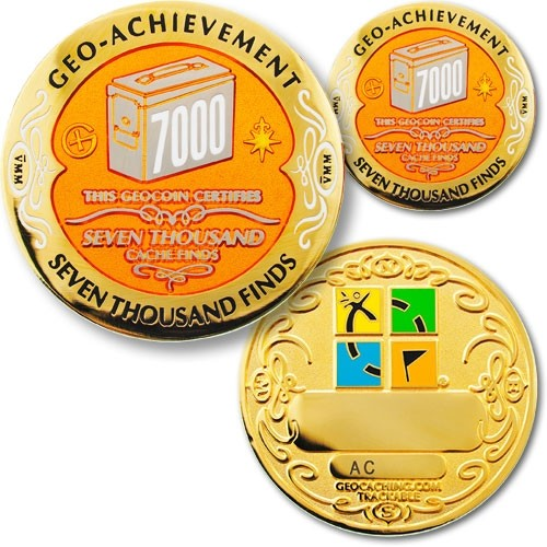 7000 Finds Geo-Achievement Award set
