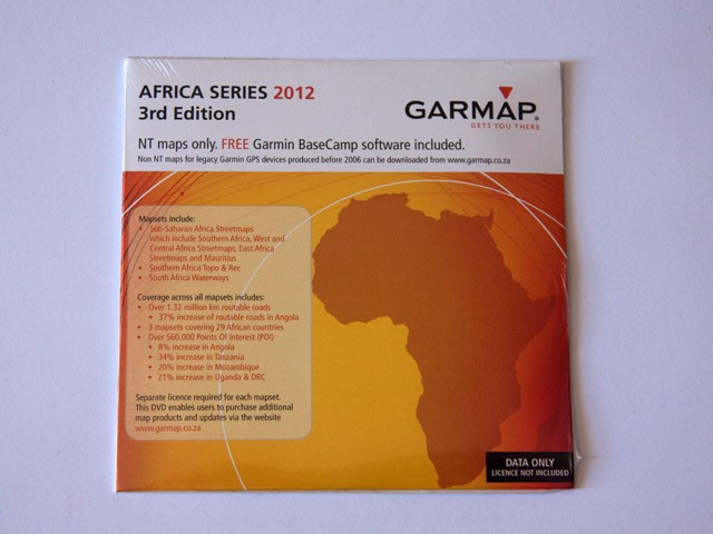 Garmap Africa Series 2012 3rd Edition