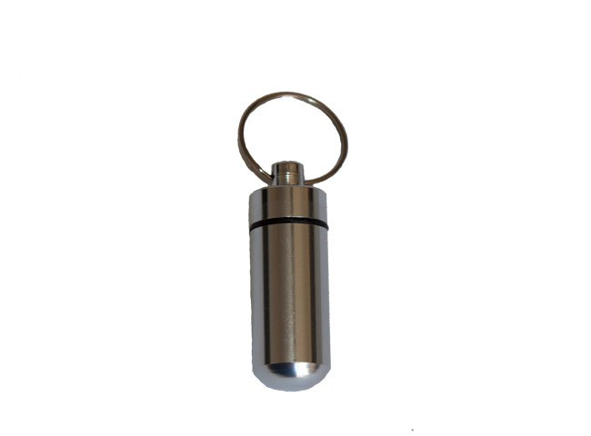 Aluminium Bison Tube 4.1cm - Silver
