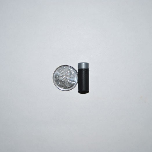 Black Plastic Vial Nano Geocaching Container