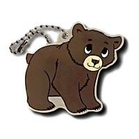 Brady the Bear Travel Tag