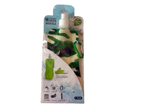 Collapsible Water Bottle - Camo