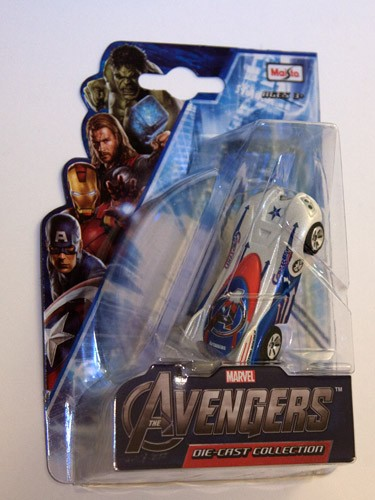 The Avengers Collection - Captain America (white)