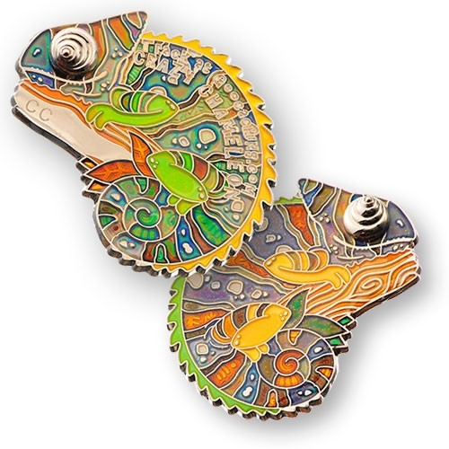 Crazy Chameleon Geocoin