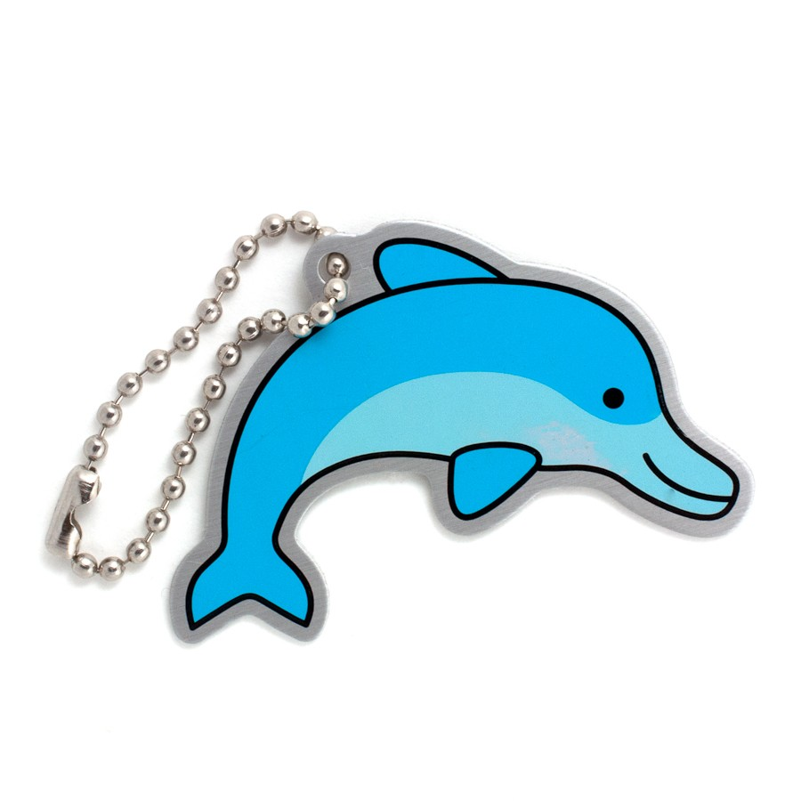 Daphne the Dolphin Travel Tag