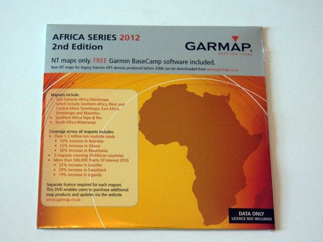 Garmap Africa Series 2012 2nd Edition