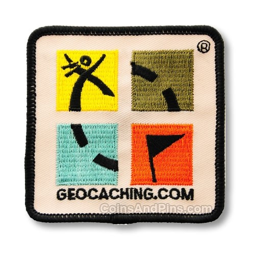 Geocaching.com Patch - Full Colour