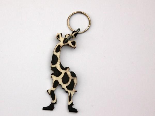 African Wooden Giraffe