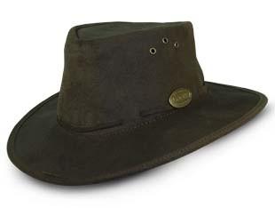 171C Pack-A-Way Bush Hat (Choc) - Rogue