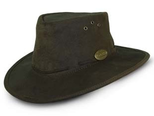 171C Pack-A-Way Bush Hat (Choc) - Rogue