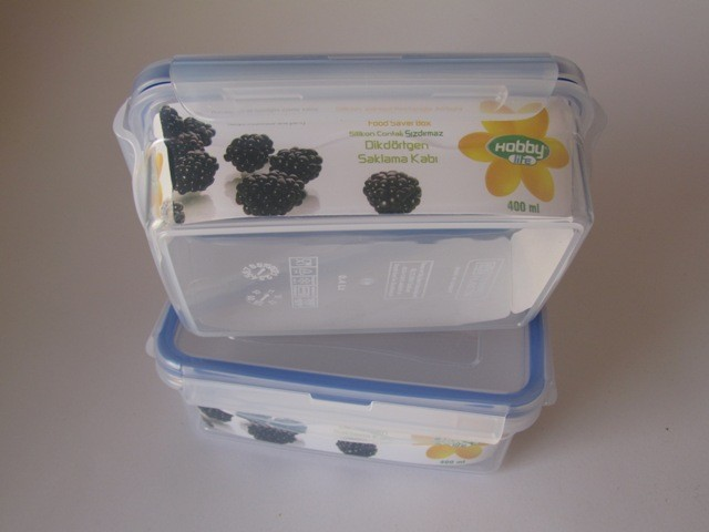 Plastic container 400ml