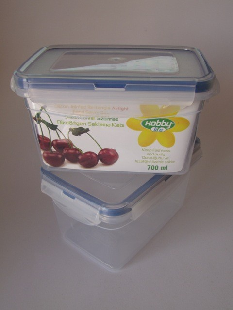 Plastic containers 700ml