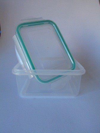 Square Plastic Container - 400ml