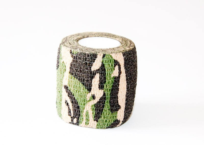 Camouflage Bandage Tape (Dark Green)