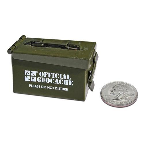 Micro Ammo Can Cache