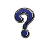 Mystery Icon Micro Geocoin - Nickel