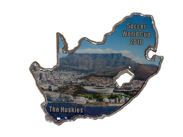 2010 South Africa Soccer Geocoin