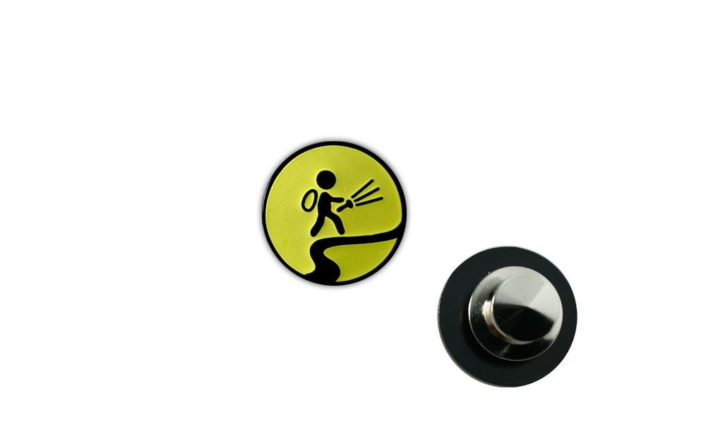 "Night Caching Pin ""Glow in the Dark"""