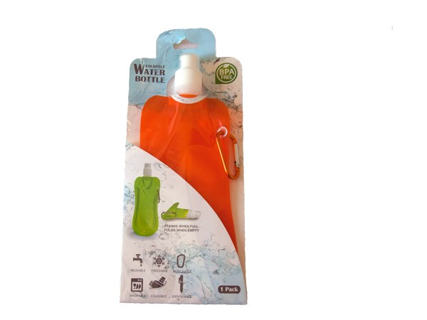 Collapsible Water Bottle - Orange