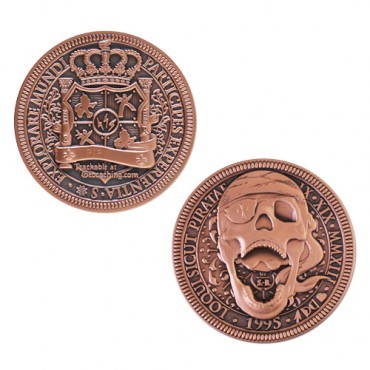 Talk Like a Pirate Geocoin - Limited Edition