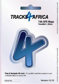 Tracks4Africa v12.10 GPS Maps