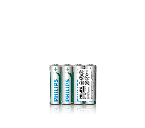 Philips Longlife AA Batteries - 4 Pack