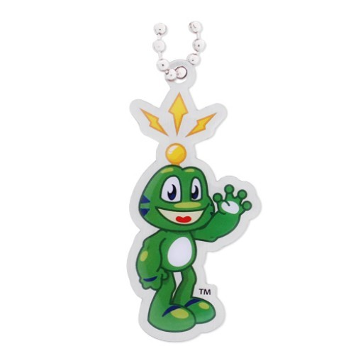 Waving Signal the Frog Travel Tag
