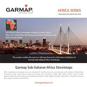 Garmap Sub Saharan-Africa Streetmaps - Voucher