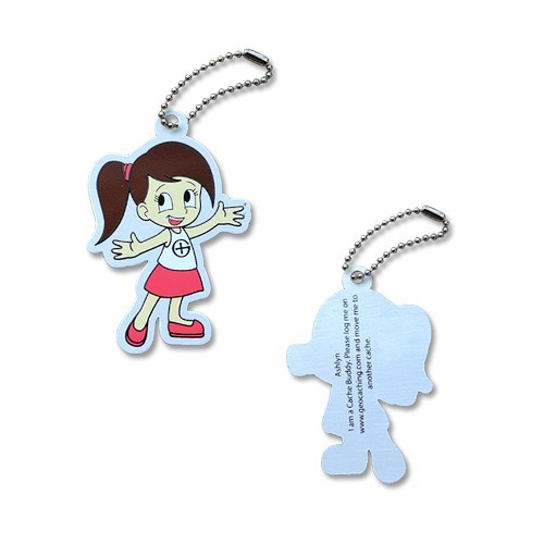 Cachin Girl Ashlyn Travel Tag