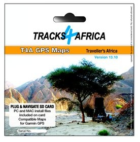 Tracks4Africa v13.10 GPS Maps