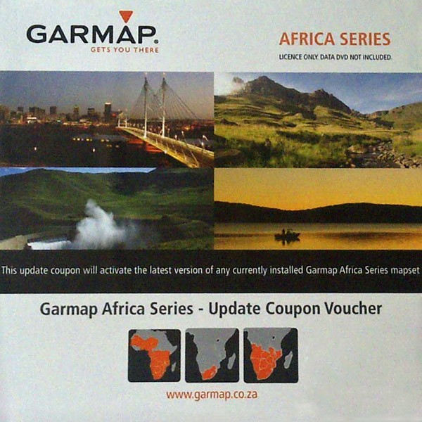 Garmap Africa Series - Update Voucher