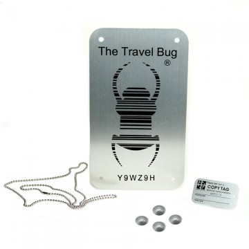 XXL Travel Bug Plate