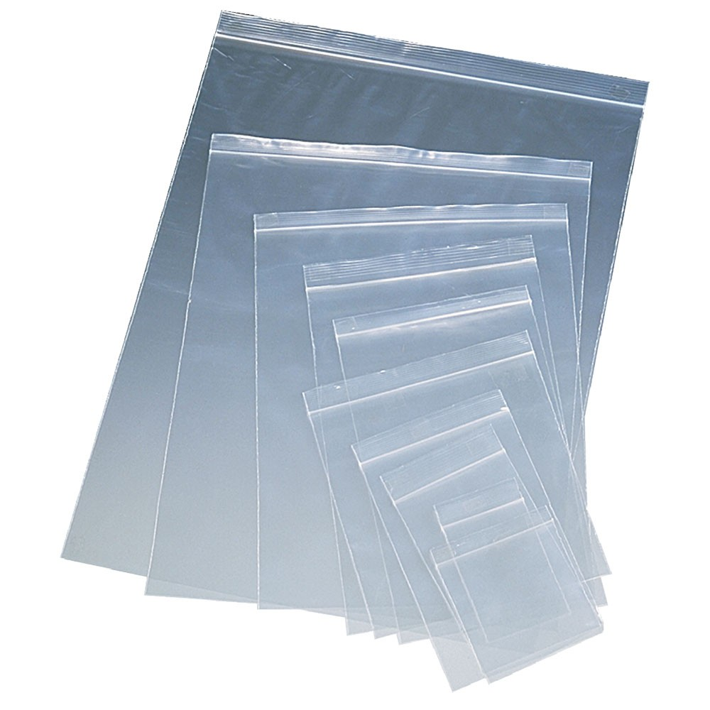 Large Single Ziplock bag - 5 Pack