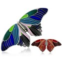 Butterfly Geocoin Antique Silver (hinged)