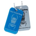 Geocaching QR Travel Bug - Blue