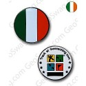 Ireland Flag Micro Geocoin