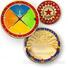 365 Days of Caching Geo-Achievement Coin & Pin set