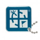 Geocaching Logo Travel Tag - Blue