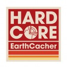 HardCore EarthCacher Sticker