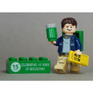 15 Years of Geocaching Cache Hunter with Trackable Brick