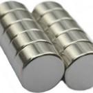 Neodymium 9mm round magnet