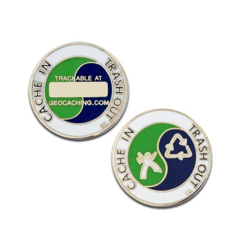 CITO Micro Geocoin - Nickel