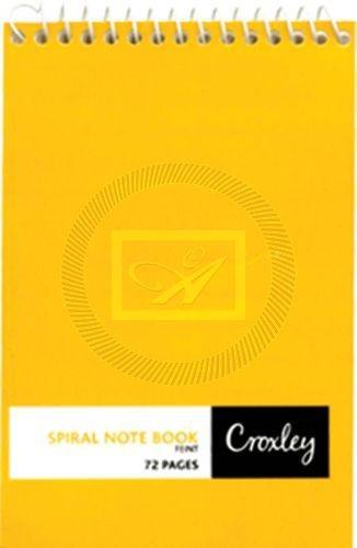 Croxley spiral notebook