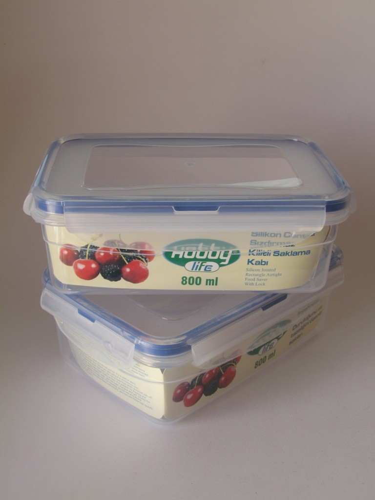 Plastic container 800ml