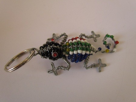 African bead & wire gecko
