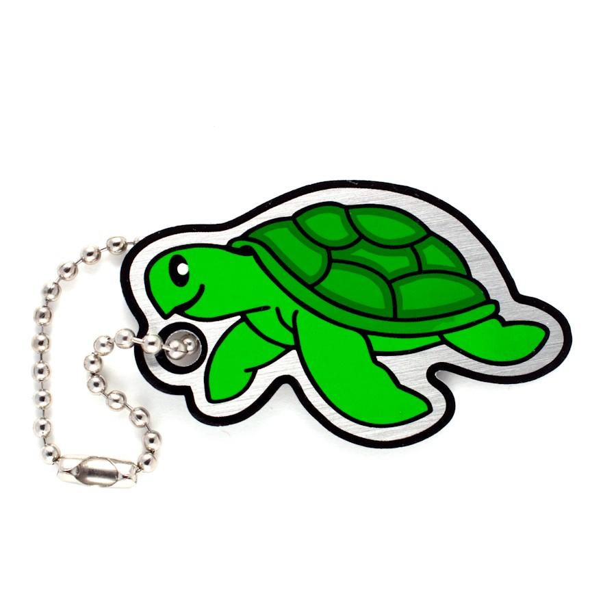 Sea Turtle Cachekinz Tag