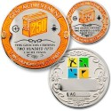 250 Finds Geo-Achievement Coin & Pin set