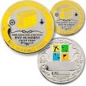 500 Finds Geo-Achievement Coin & Pin set