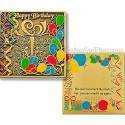 Happy Birthday Geocoin - Bronze